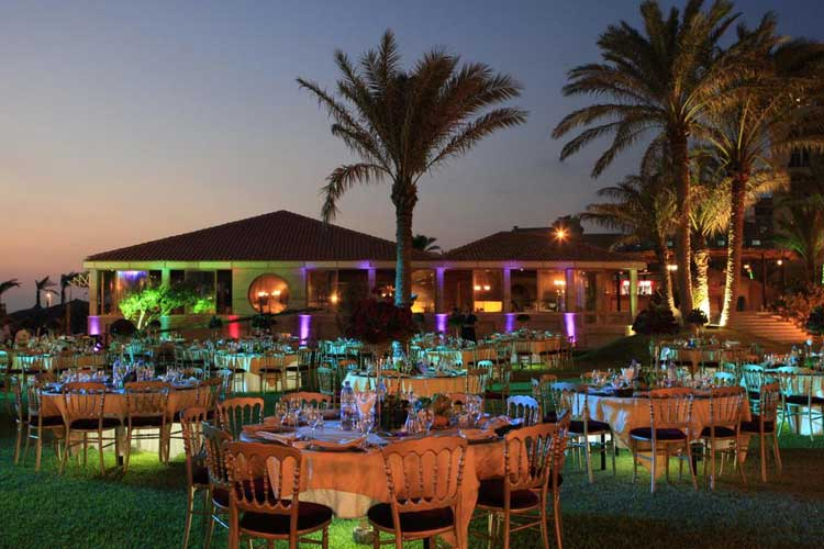 Sawary Resort and Hotel Wedding Setup